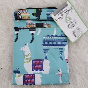 NWT Llama Insulated Lunch Tote